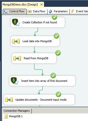 SSIS - Loading data into MongoDB (Upsert, Delete, Update) | ZappySys
