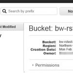 How to find amazon s3 bucket location (AWS region endpoint)