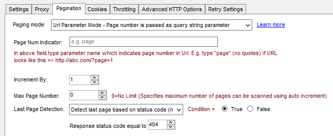 SSIS API Pagination - Detect last page by response status code