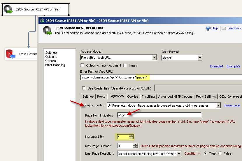 Understanding REST API Pagination in SSIS / ODBC Drivers | ZappySys Blog