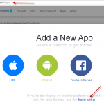 How to register Facebook OAuth App for Graph API Access