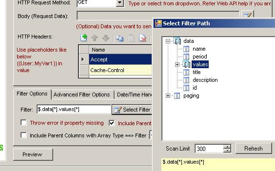 Facebook REST API (Filter Data using Json Path Expression)