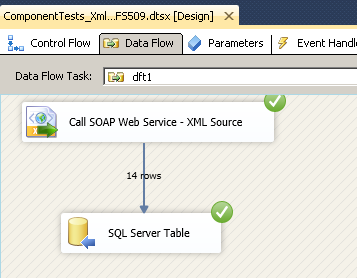 SSIS SOAP Web Service Call - Loading XML data into SQL Server Table (or MySQL, Oracle, FlatFile)