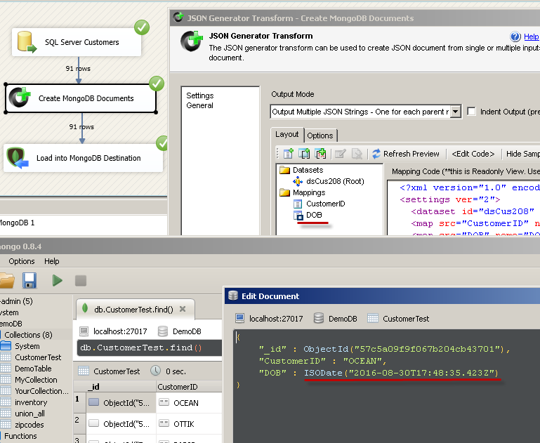 mongodb insert if not exists