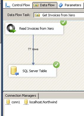 How to read/load data in Xero using SSIS | ZappySys Blog