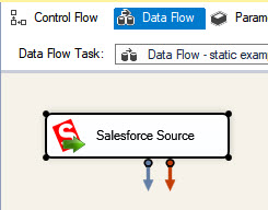 Using Salesforce Source to start exporting data