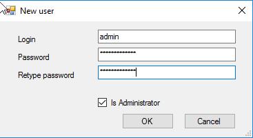 Add user and login