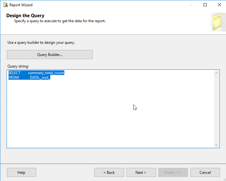 SSRS query to Facebook