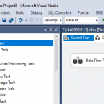 Using Data flow in SSIS
