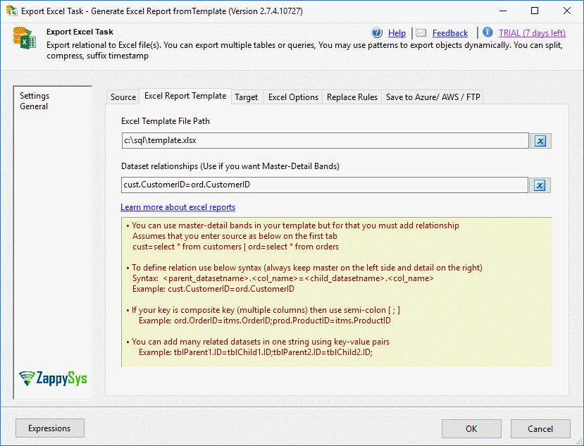 Custom Template Options