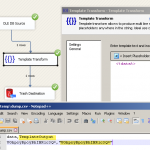 Convert Varbinary to BASE64 using SSIS Template Transform