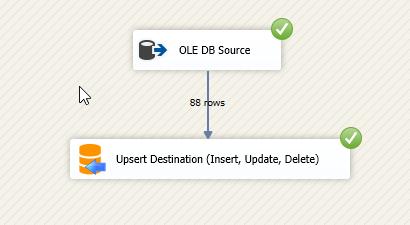 Upsert Destination (Insert, Update, Delete)