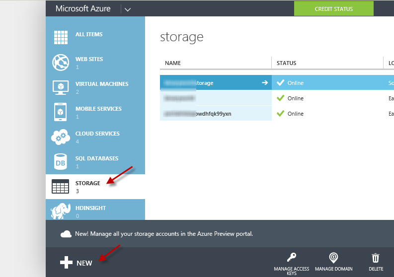 How To Create Azure Storage Account On Microsoft Portal