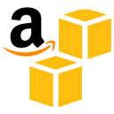 Amazon AWS S3 Storage Service Logo - File storage in cloud
