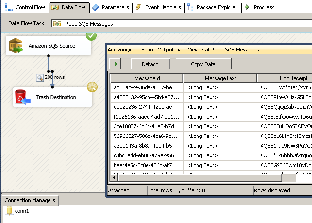 Run or Execute The SSIS Package