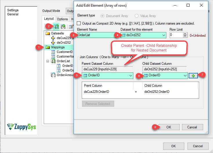 JSON Generator Transform - Add/Edit Document Array