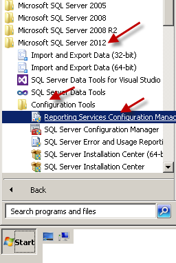 how to start ssis in sql server 2012