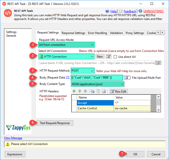 Call REST API using SSIS Web Service Task / JSON / XML