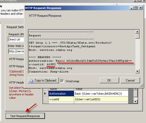 SSIS REST Api Task - HTTP GET, Test SSIS Web Service Call, Pass Custom Header