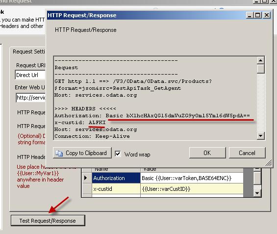 SSIS REST Api Task - HTTP GET, Test SSIS Web Service Call, Pass Custom Header