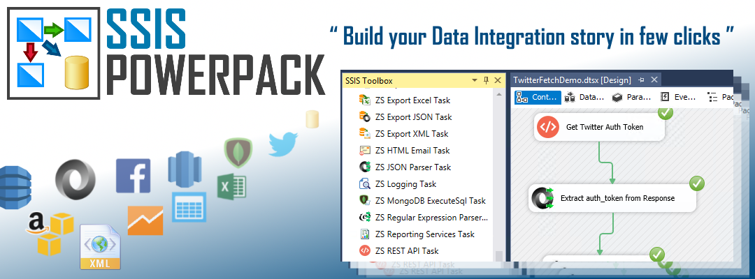 SSIS PowerPack - SSIS Components & Tasks | ZappySys